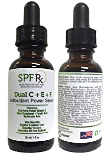 SPF Rx Dual CE + Ferulic Antioxidant Power Serum (1oz - 4 pack)