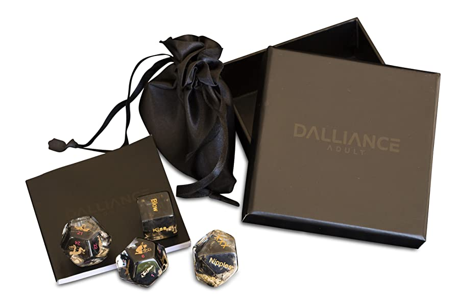 Spice up your love life with the latest version of Dalliance's adult sex  dice game incorporating 60 erotic foreplay options and 34 positions for  adventurous ...