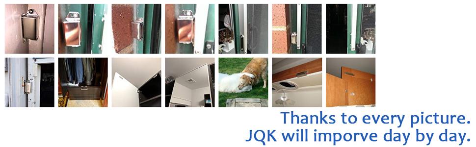 Jqk Magnetic Cabinet Door Catch Stainless Steel Closet