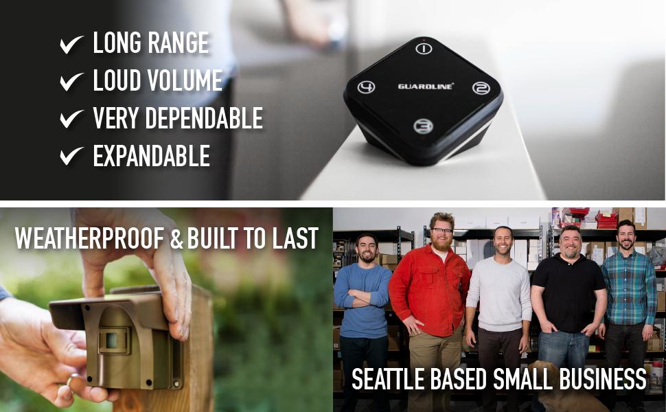 Amazon Com Guardline Wireless Driveway Alarm Outdoor