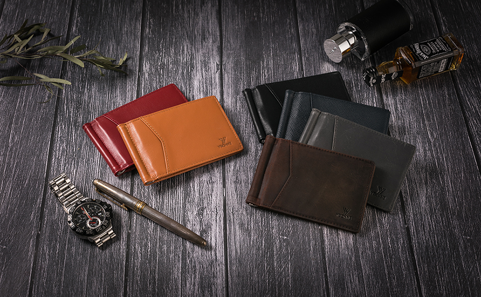 dfe8e797f057 Highest Quality Genuine Leather Used. YBONNE minimalist wallets ...