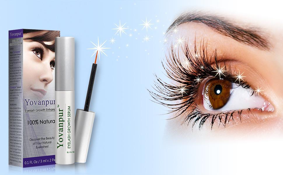 Amazon Eyelash Growth Serum2 Pack Yovanpur Eyelash Growth