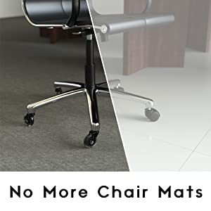 thousands of office chairs in the united states are now safe u0026 free to glide all over the office without fear of damage or getting stuck