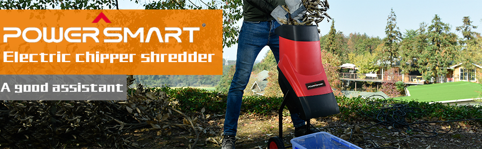 PS10 electric chipper shredder