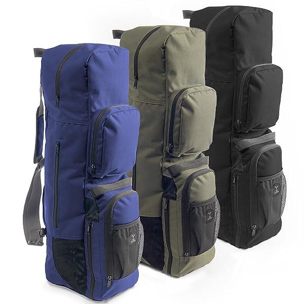 Amazon.com : MatPak Yoga Bag, Pockets for Yoga Block and
