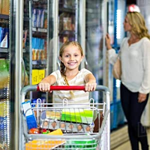 Keep track of the kids while shopping