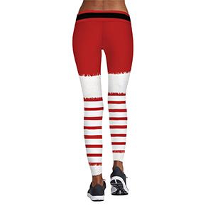 25222ba3cff12 Amazon.com: COCOLEGGINGS Womens Digital Print Ugly Christmas Sweater ...