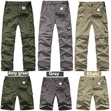 Amazon.com: Mens Hiking Pants Adventure Quick Dry