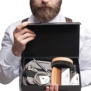 Beard Kit Beard Grooming Kit Beard Reverence Beard Oil Beard Gift Beard Box