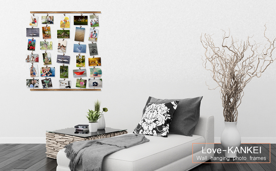 Amazon Love Kankei Wood Picture Photo Frame For Wall Decor 26