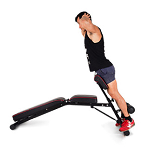 Multi Workout Abdominal Hyper Back Extension Bench Soges