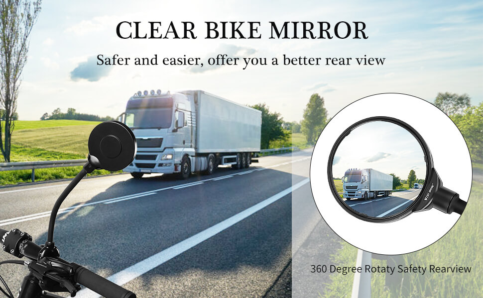 adjustable bike mirror