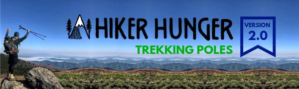 Hiker Hunger Trekking Poles