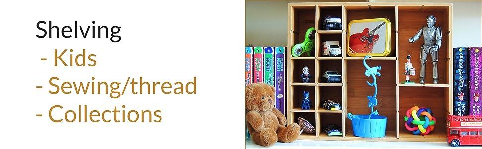 sewing thread toy shelves shelf shelving
