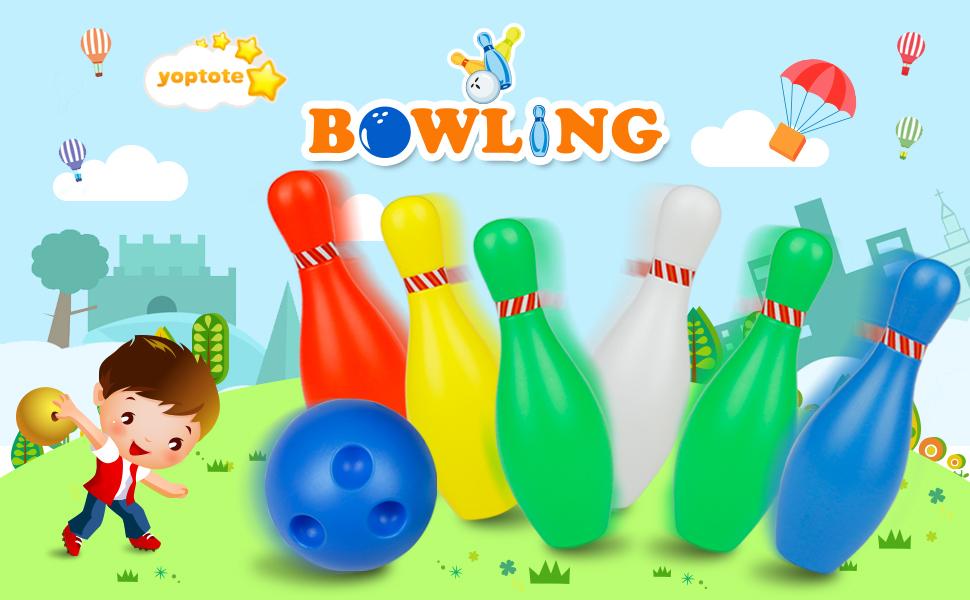 Yoptote Bowling Ball Game