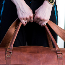 KPL Leather Duffel