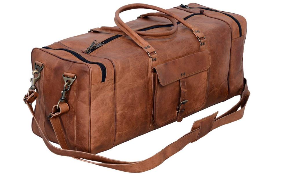 1f09c91c2d1c komal s passion leather komalc komal c. komal s passion leather duffel bag