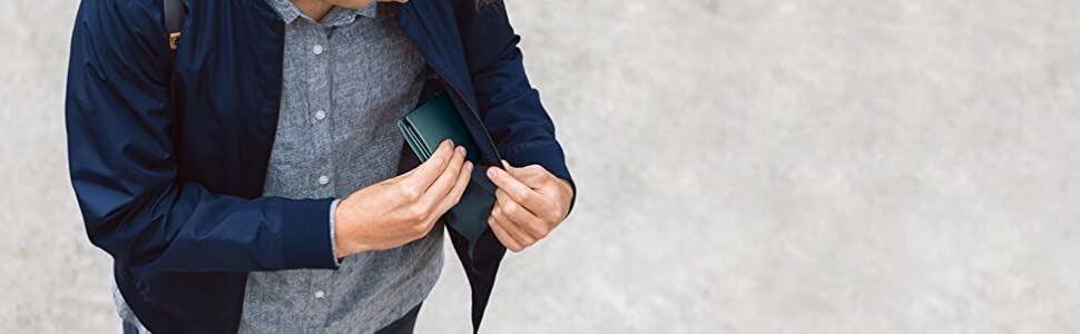 wallets, leather, RFID, Note Sleeve, bifold, men's fashion, accessories, cardholder, business