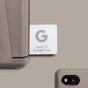 Tosim Google Pixel 2 H/ülle Klappbar Leder, Brieftasche Handyh/ülle Klapph/ülle mit Kartenhalter Stossfest Lederh/ülle f/ür Google Pixel2 - TOKTU160505 Blau