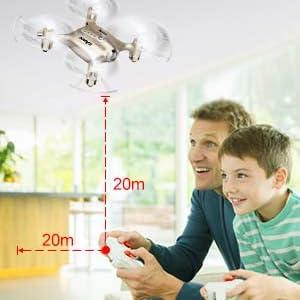 control distance of mini drone