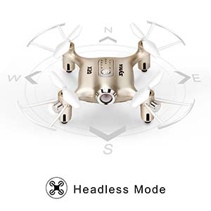 mini drone with headless mode