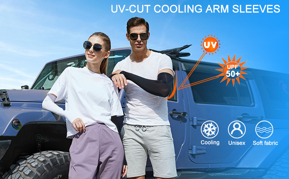 UV Sun Protection Cooling Arm Sleeves