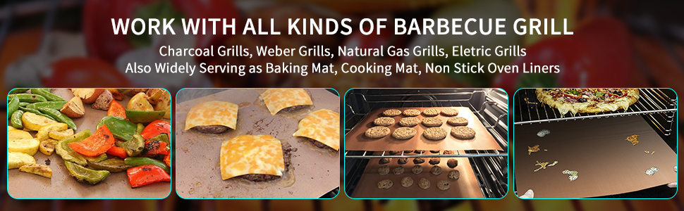 WORK WITH ALL KINDS OF BARBECUE GRILL