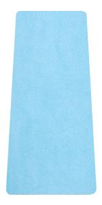 Travel Yoga Mat Blue