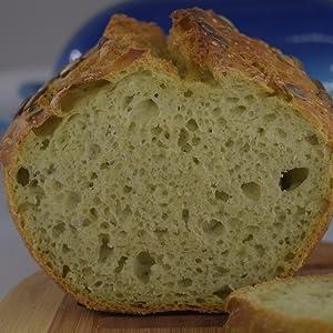 Healthy bread recipe, cucumber bread, no knead bread recipe book, free recipe ebook