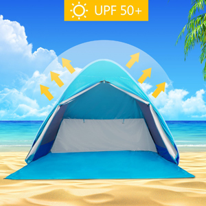 BATTOP designs this beach tent for a family with babies. We know you extremely care about babiesu0027 healthy so we choose the high quality material-190T ... & Amazon.com: BATTOP Automatic Pop Up Beach Tent Sun Shelter Cabana ...