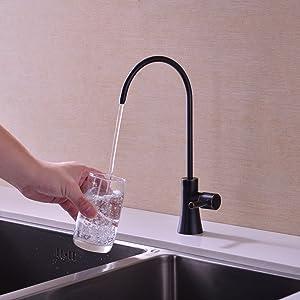 bronze drinking water faucet
