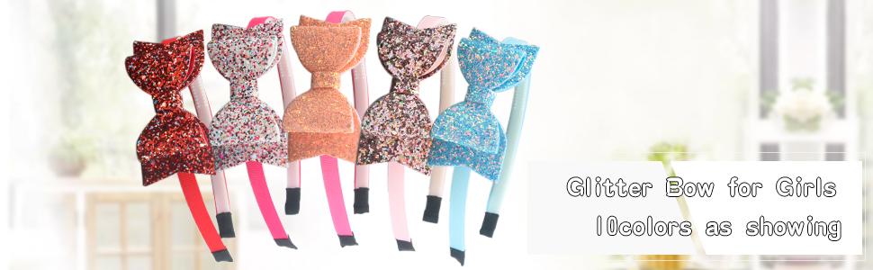 Glitter bow Hairband