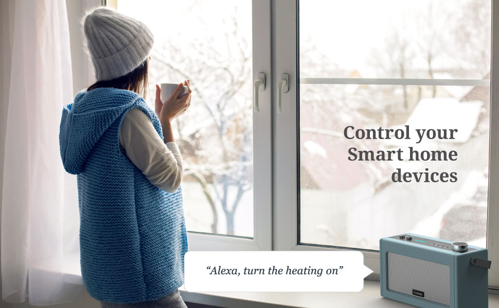 Century Smart Wi-Fi Speaker with Alexa Bluetooth Internet Radio Smart Home Control Multi-Room