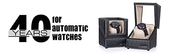 40 Years for Automatic Watches