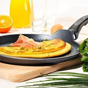 Crepe Pan, Egg pan, omelet pan, woks, saucepans, and more!
