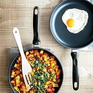 fry pans, skillets, Stock Pots, Casserole pans, soup pots, saucepans