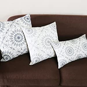 gray pillow covers 18x18
