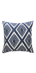 navy throw pillows for bedroom