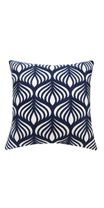 navy throw pillows for couch