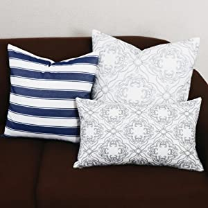 gray cushion covers 20x20