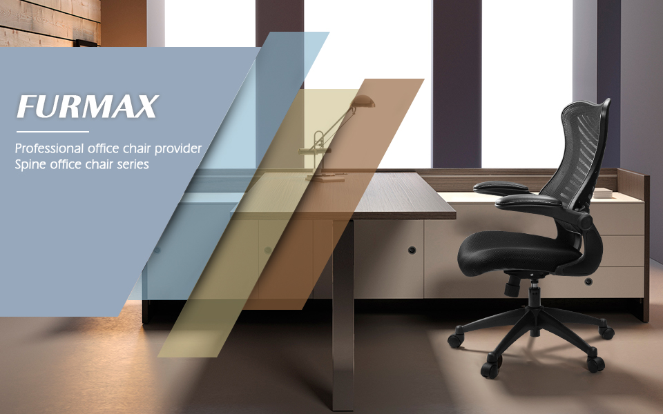 amazon com furmax mid back office chair mesh desk computer chair