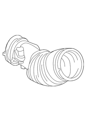 Amazon Com Air Cleaner Intake Hose Tube For Honda Odyssey V6 3 5l