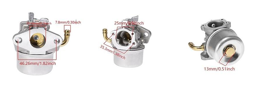 Amazon.com: anxingo carburador para Briggs & Stratton intek ...