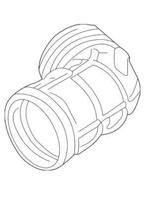 Amazon Com Air Cleaner Intake Hose Tube For Bmw 330i 325ci 325i