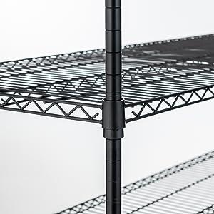 Amazon.com: Uenjoy - Rack de estantería, resistente ...