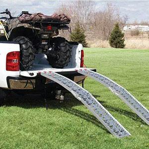 Amazon.com: SUNCOO Rampas de carga de aluminio con arco para ...