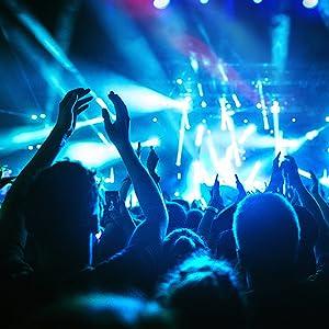 Flashandfocus.com fe38d2c2-abc4-4d81-afdf-f3fc3f68c351.__CR0,0,1600,1600_PT0_SX300_V1___ SUNCOO 4/8/12 Packs 18 LEDs Par Light DMX Uplights LED Stage Lighting RGB Lighting 7 Modes DMX Lighting Controlled Sound…