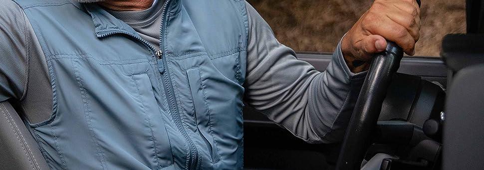 Scottevest Featherweight Men Lightweight Vest Travel Utility Safari Vest