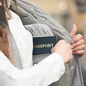 rfid blocking pocket vest