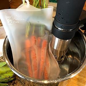 Use Sous Vide machine, Anova, ChefSteps Joule, Gramercy Kitchen, Gourmia, Kitchen Gizmo, Sousvant,